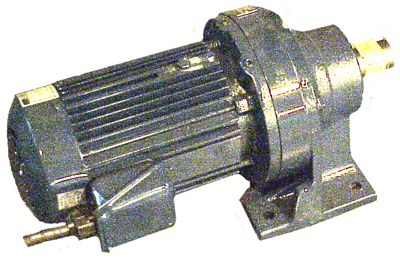 1.5 HP drive motor with reducer