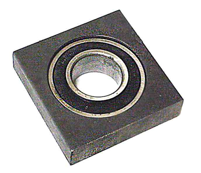 turntable ring shaft support